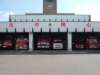 新十津川消防外観